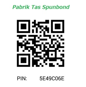 PIN BBM PABRIK TAS SPUNBOND